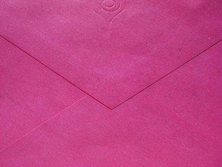 Farbige Briefumschläge